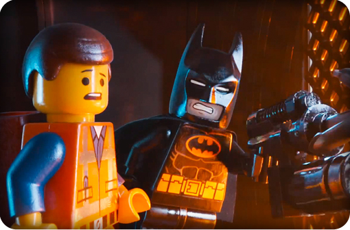 The lego movie charlie day