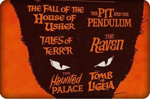 VINCENT PRICE & ROGER CORMAN PRESENT SIX GOTHIC TALES BY EDGAR ALLEN POE