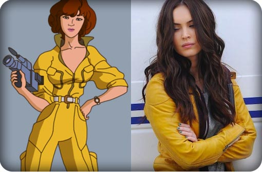 Set Pics Give TMNT Fans their First Look at Megan Fox's April O'Neil!