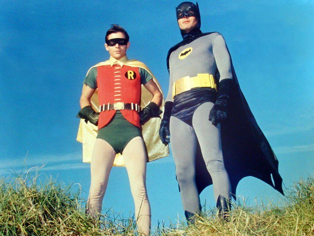 Batman Robin Adam West Burt Ward