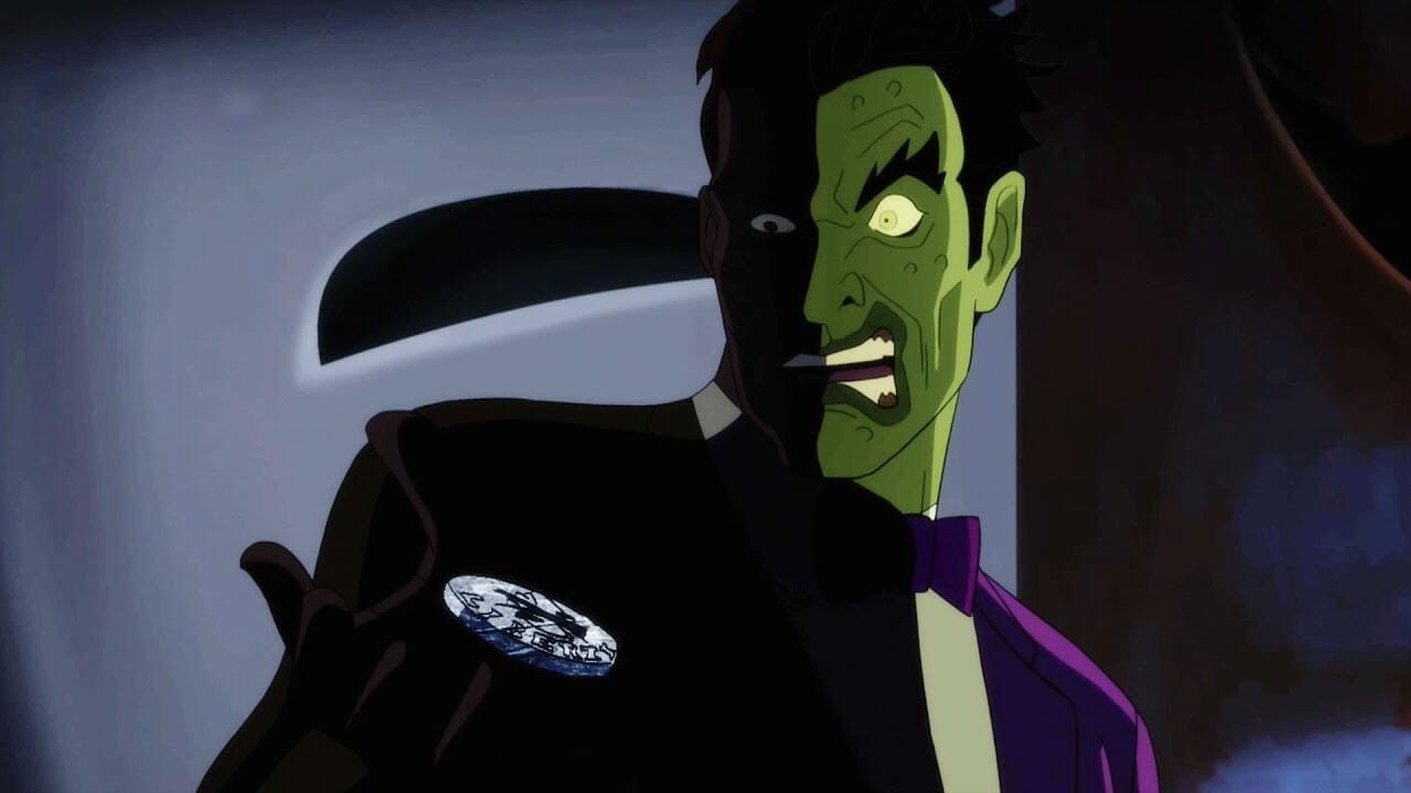 Batman vs. Two-Face William Shatner