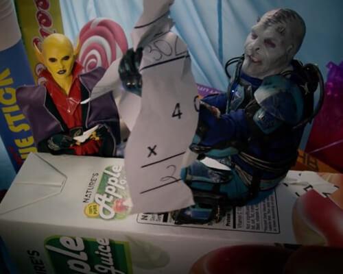 Tristan Risk Aliens Ate My Homework