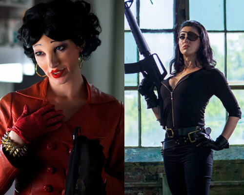 Tristan Risk Beatress Val American Mary Frankenstein Created Bikers