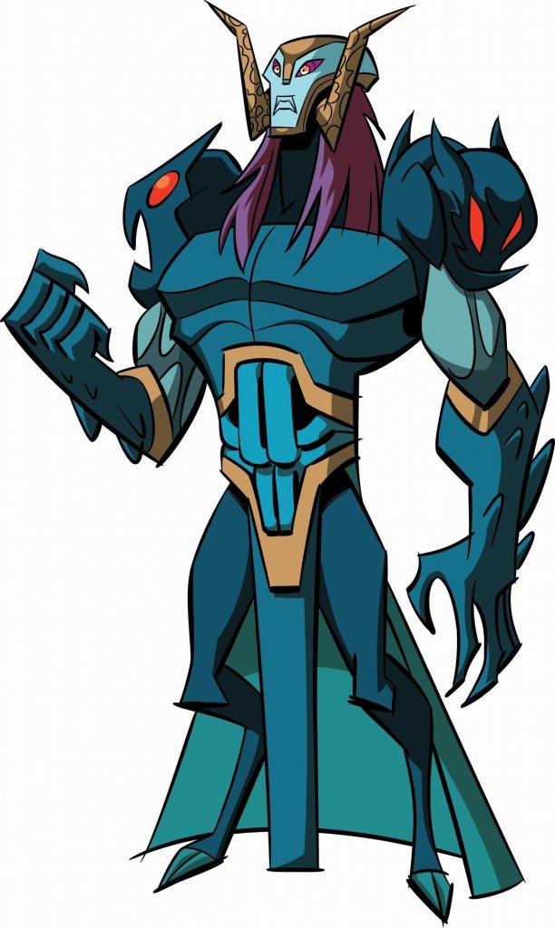 Baron Draxum TMNT