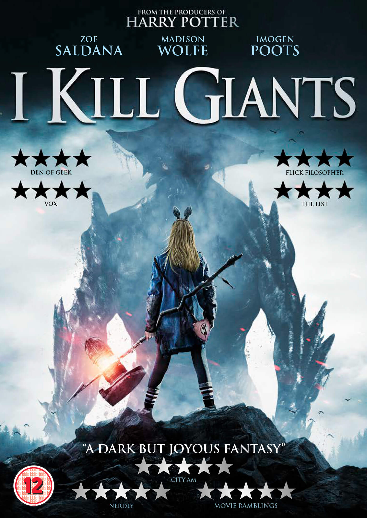 I Kill Giants DVD