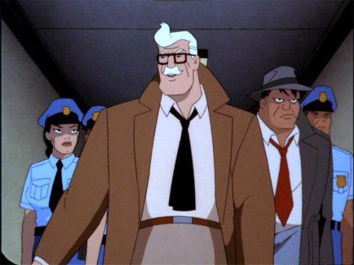 Batman: The Animated Series Renee Montoya Jim Gordon Harvey Bullock