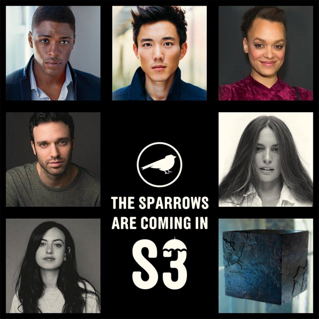 sparrow academy cast umbrella academy netflix