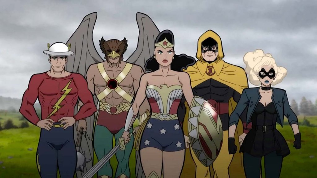 Justice Society World War II in DC Universe Animated Movies, starring Matt Bomer and Stana Katic