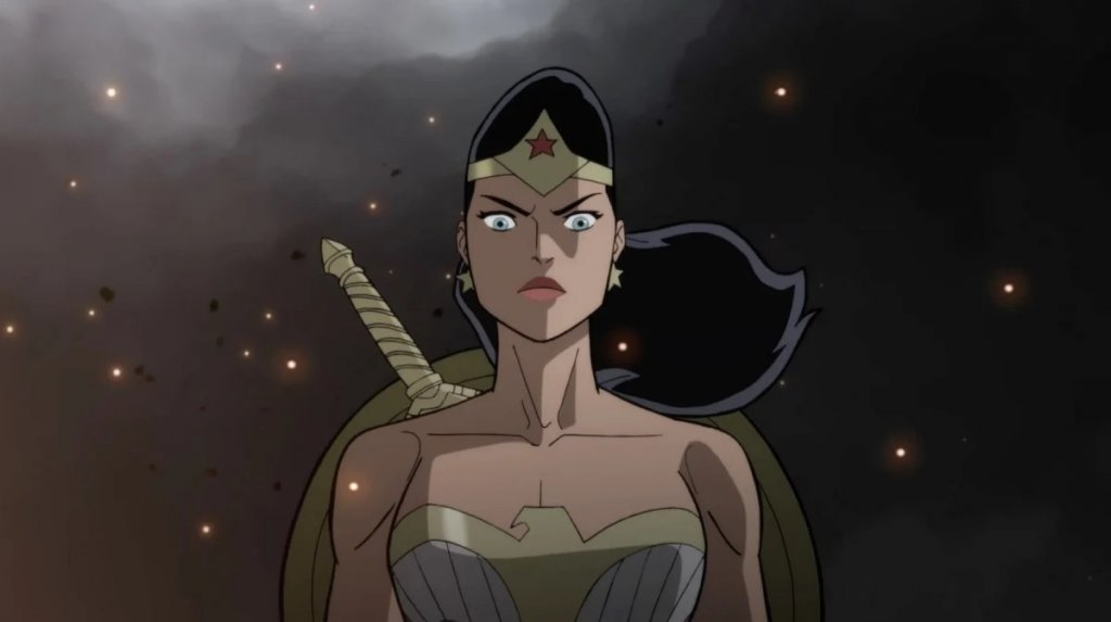 Justice Society World War II in DC Universe Animated Movies, starring Stana Katic as Diana Prince and Wonder Woman