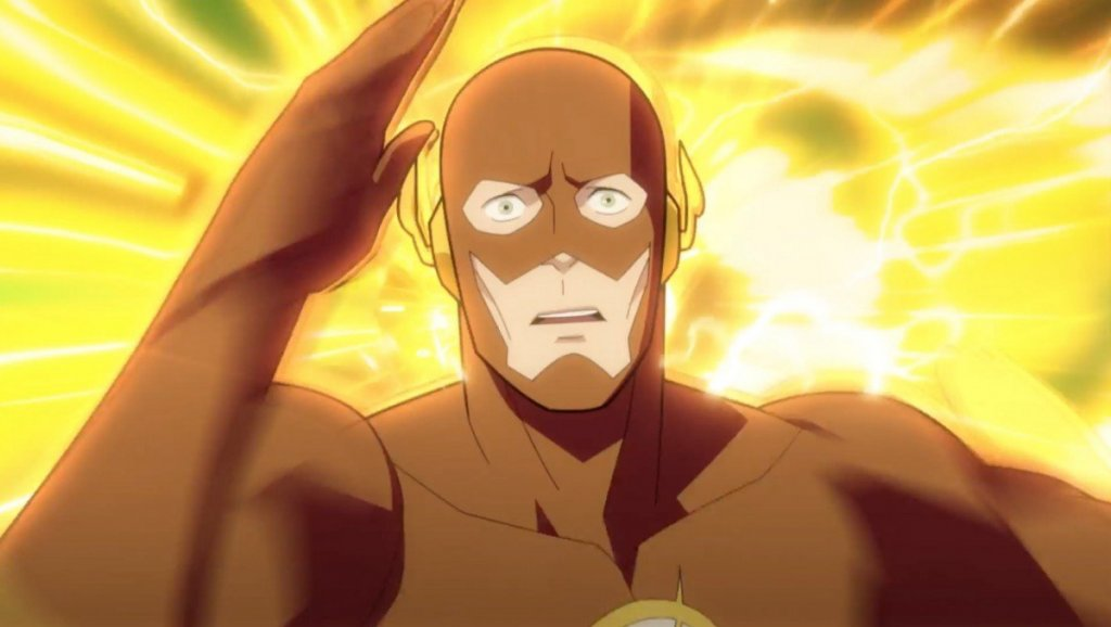 Matt Bomer voices The Flash and Barry Allen in DC Universe Justice Society: World War 2