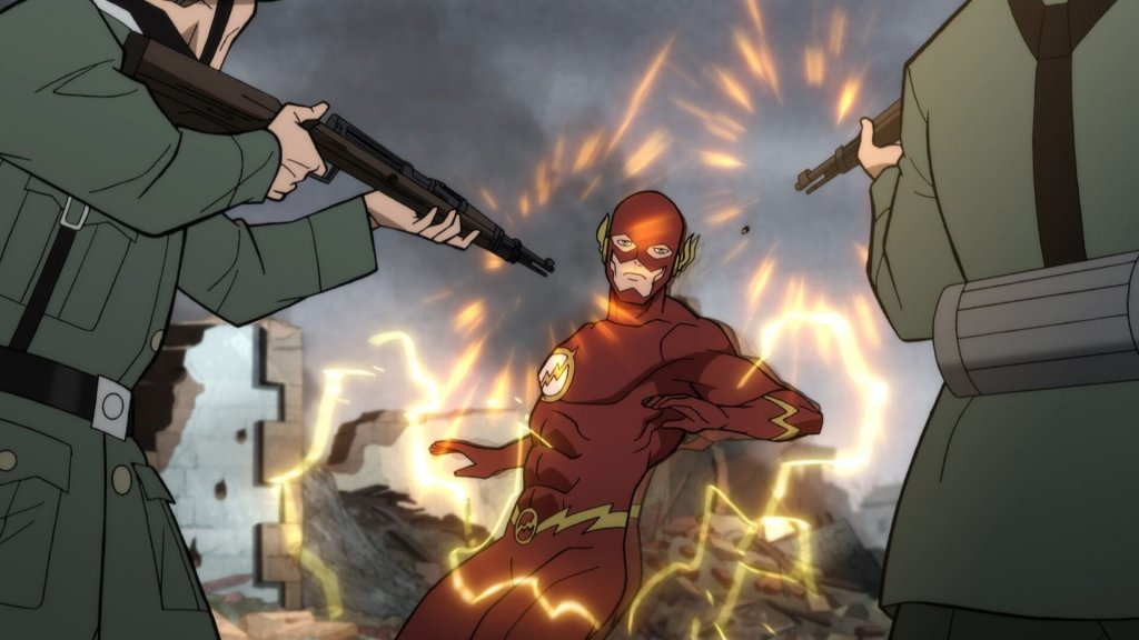 justice society world war 2 barry allen the flash fighting nazis